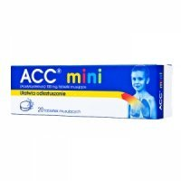 ACC mini 100mg 20 tabl rozp
