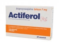 ActiFerol Fe 7mg 30 saszetek data 30.11.2019