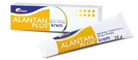 Alantan-Plus 20mg+50mg/1g krem 35g