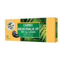 Carbo medicinalis VP 300mg 20tabl.