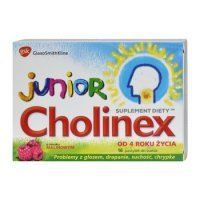 Cholinex Junior 16 szt