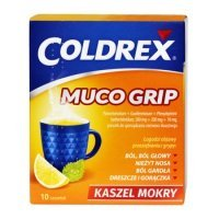 Coldrex Muco Grip 10 sasz.