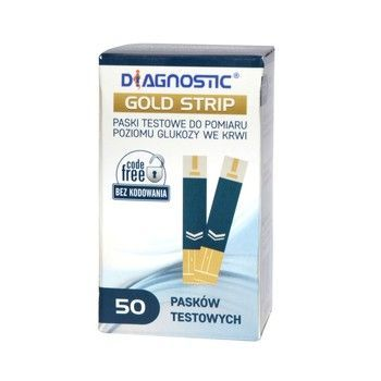 Diagnostic Gold Strip 50 pask