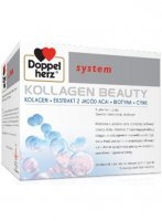Doppelherz system KOLLAGEN BEAUTY płyn 30 ampułek po 25 ml