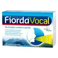 Fiorda Vocal 30 pastyl.