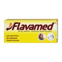 Flavamed 30mg 20 tabl