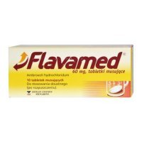 Flavamed 60mg 10 tabl rozp