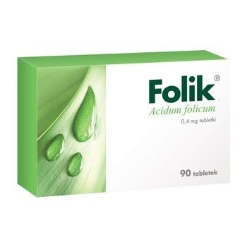 Folik 0,4mg 90 tabl