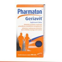 Geriavit Pharmaton 100 kapsułek data 30.07.2020