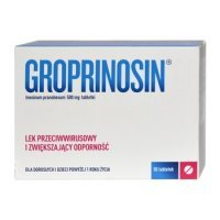 Groprinosin 500mg 50 tabl