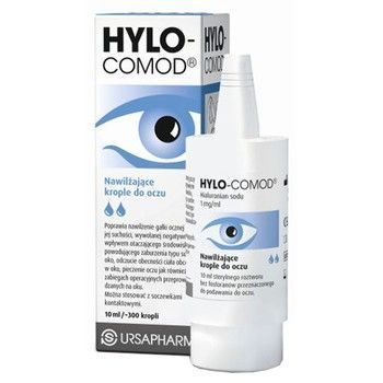 Hylo-Comod krople do oczu 10ml