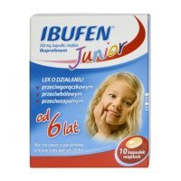 Ibufen Junior 200mg 10 kaps