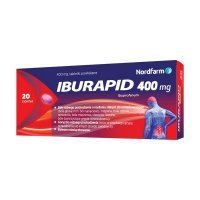 Iburapid 400mg 20 tabl.