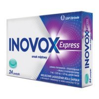 Inovox Express  mietowy x 24 past