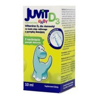Juvit Baby D3 krople doustne 10ml