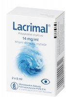 Lacrimal krople do oczu 14mg/1ml 10ml