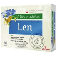 Len Colfarm 60 tabletki do ssania