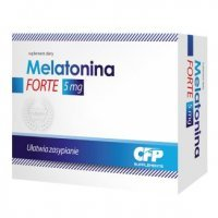 Melatonina Forte 5 mg 30 kaps.