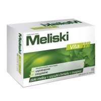 MELISKI  18 pastyl.do ssania