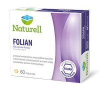 NATURELL Folian, 60 tabletek