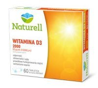 NATURELL Witamina D3 2000 60tabl.do ssan