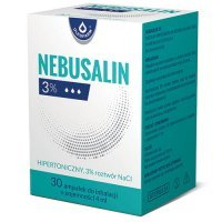 Nebusalin 3% rozt.do inh. 30 amp.a 4ml