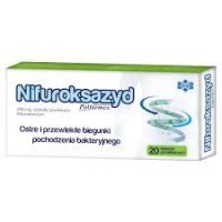 Nifuroksazyd Polfarmex 200mg 20 tabletek