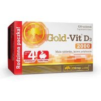 Olimp Gold-Vit D3 2000 120 tabl.