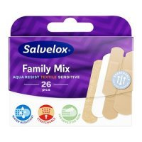 Plastry SALVEQUICK Family Mix 26 szt.