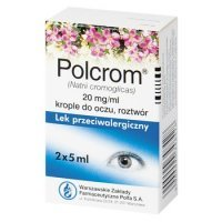 Polcrom krople do oczu 20mg/1ml 10ml