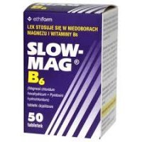 Slow-Mag B6 64mg+5mg 50 tabl
