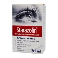 Starazolin krople 0,5mg/ml 10ml(2x5ml)