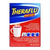 Theraflu Max Grip 10 sasz.