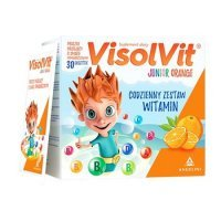 Visolvit Junior Orange gran.mus. 30sasz.