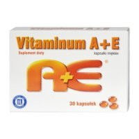Vitaminum A+E 2500+10mg 30kaps.HASCO